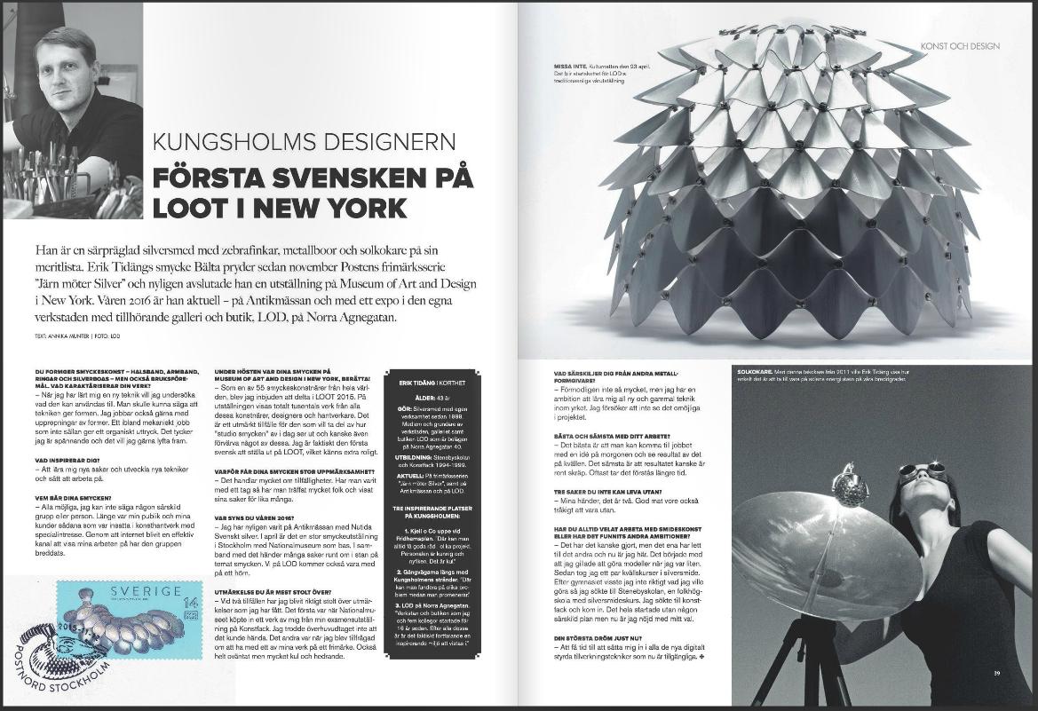 Kungsholmen Paper nr.1 2016