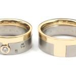 Förlovnings och vigselringar i guld och titan - Erik Tiäng