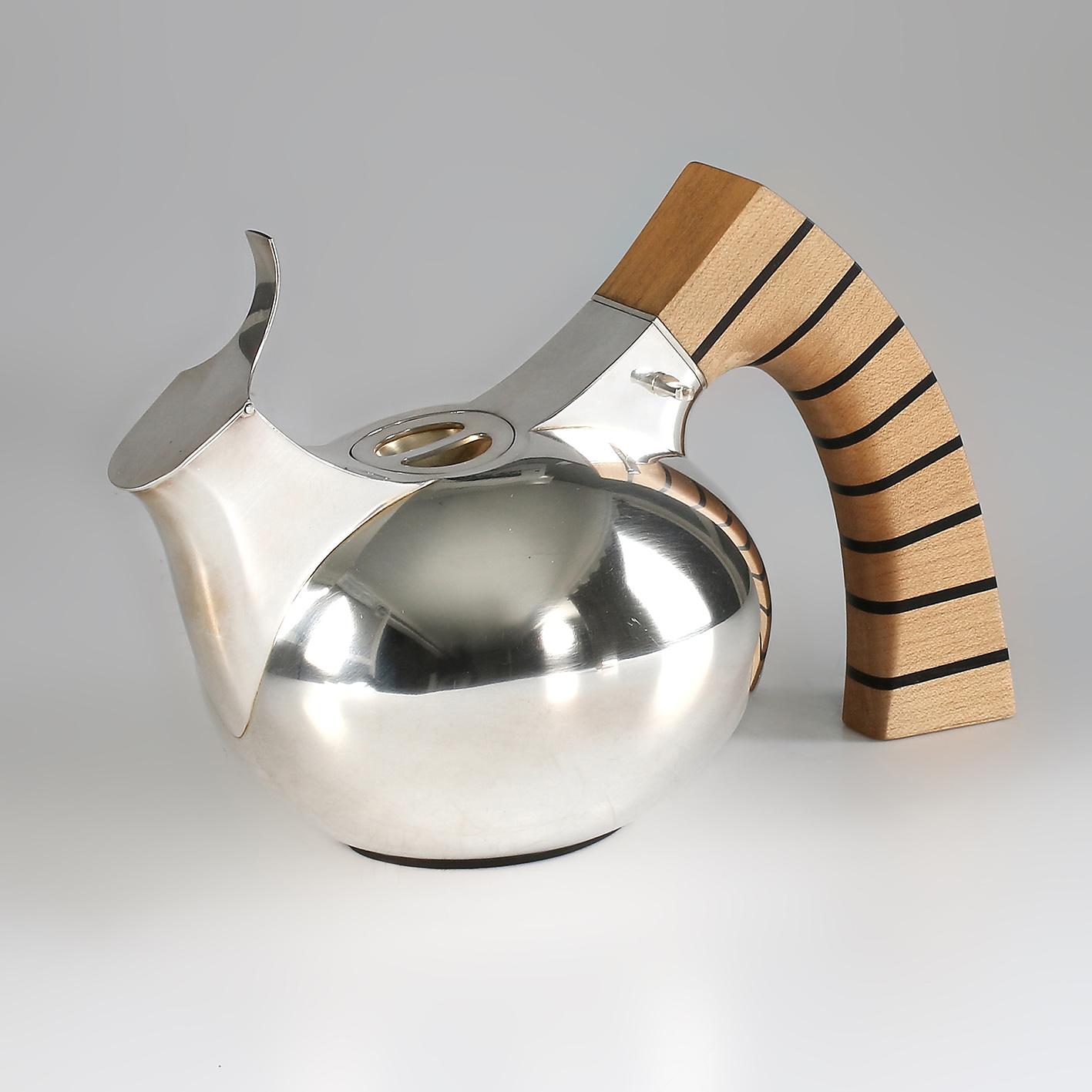 Silverkanna - silver teapot - Erik Tidäng