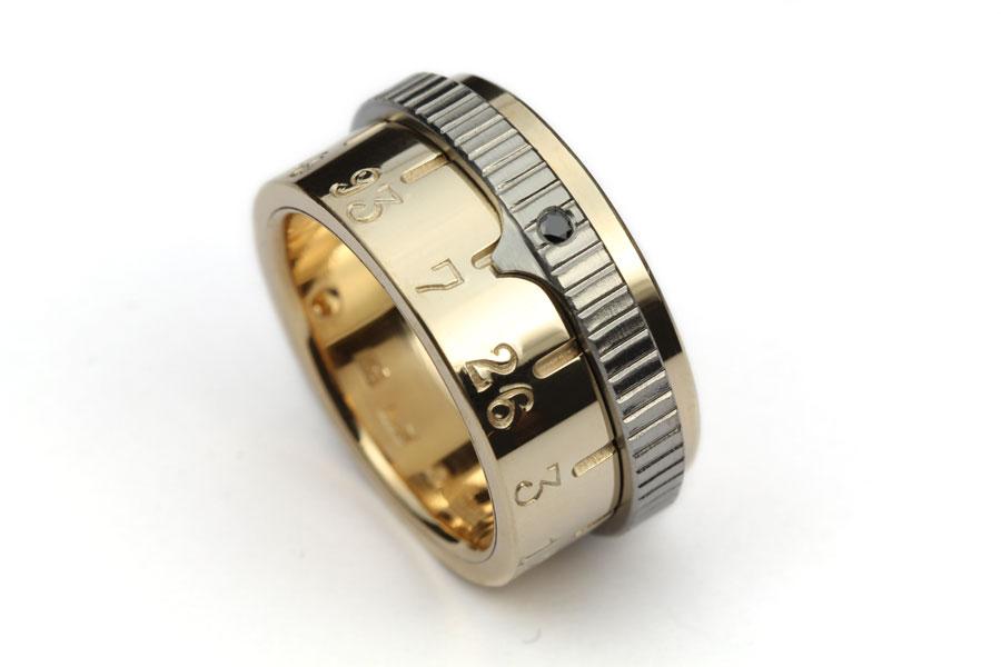 Guld ring med minne - Erik Tidäng