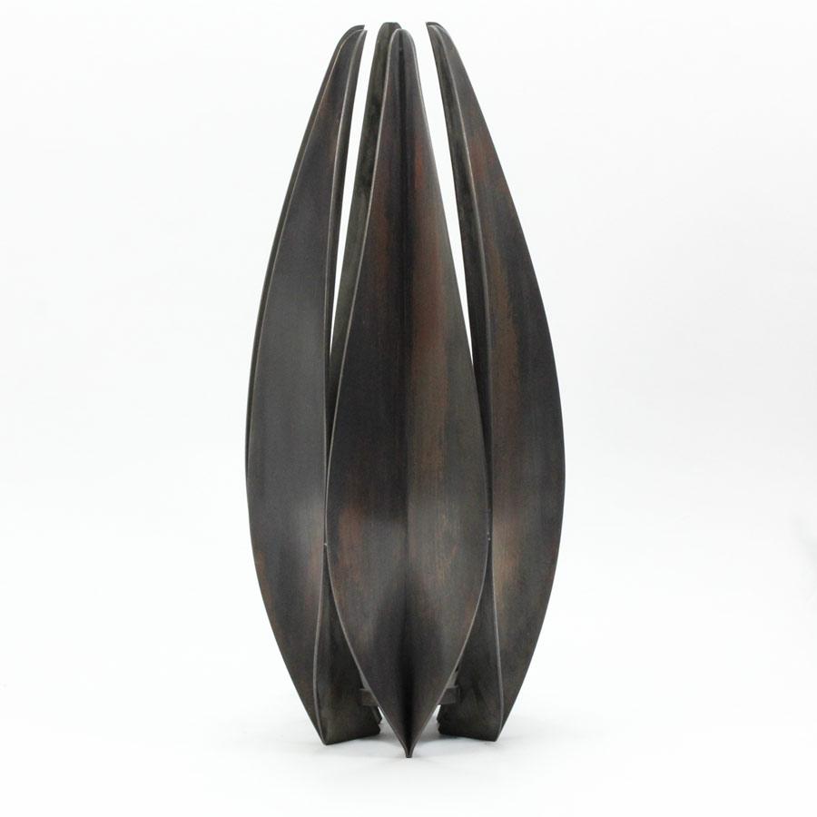 """""""Frökapsel"""" av oxiderad koppar - Erik Tidäng"""